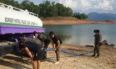 ตชด.44เร่งแจกน้ำช่วยปชช.ภัยแล้งยะลา