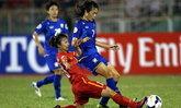 ประมวลภาพแข้งสาวไทยเชือดเหงียนไปบอลโลก
