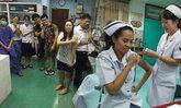 จิตใจงาม ทีมแพทย์-พยาบาลแม่สอดระดมบริจาคเลือดตัวเอง ช่วยชีวิตเด็กพม่ากลางดึก