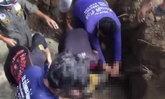 หนูน้อยเด็ก1ขวบติดอยู่ในท่อส่งน้ำเสียชีวิต
