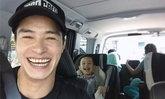 """ยิ้มฝ่าดราม่า """"ปีเตอร์"""" ทำหน้าที่พ่อขับรถรับลูกชาย"""
