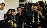 ภาพอบอุ่น น้องอชิ ขึ้นโชว์งานโรงเรียน พ่อแม่มาเชียร์พร้อมหน้า