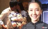 นุ่น โชว์หวาน ครบรอบแต่ง 7 ปี มีช็อตบังคับถ่ายรูปหอมแก้ม