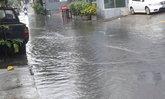 รัชดา36 ซอยเสือใหญ่ น้ำท่วมหลังฝนถล่ม