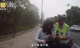 """หญิงจีนรถล้มเลือดอาบ ไม่ยอมไปรพ. บอก""""ฉันจะไปทำงาน"""""""