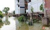 เสาตึกโรงเรียนดังริมแม่น้ำ ทรุดตัวสะเทือน สั่งปิดเรียน 3 วัน