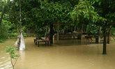 น้ำเอ่อริมคลองพังงาท่วมบ้านปชช.