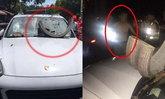 หนุ่มจอดรถปอร์เช่สุดช้ำกระถางยักษ์ปริศนาตกใส่รถ ประกันไม่รับซ่อม