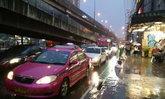 ฝนถล่มกทม.ภาษีเจริญหนักสุด75.5มม.จร.หนึบ