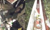 เปิดภาพ ฮ.ตำรวจ เบลล์ 212 ตกขณะยกตัว เจ้าหน้าที่บาดเจ็บสาหัส