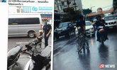 คนสุราษฎร์ฯ แห่ชมแก๊งเด็กช่าง ช่วยคนพิการกลางสายฝน