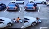 สุดช็อก สาวจีนมัวเล่นมือถือ ขับรถทับเด็กเจ็บสาหัส 3 คน