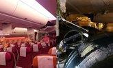 เครื่องใหม่การบินไทย TG221 ล้อแฉลบออกนอกรันเวย์ที่ภูเก็ต
