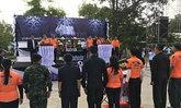 นักปั่น2แผ่นดินไทย-กัมพูชาร่วมแสดงความอาลัย