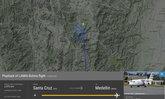 เครื่องบินตกโคลอมเบีย นักเตะสโมสรดังบราซิลนั่งเต็มลำ