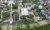 น้ำท่วมนครศรีฯหลายชุมชนวิกฤติ-ระบายช้า