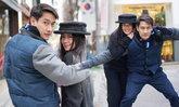 พิษสวาท..ข้ามแดน ป้อง เกี่ยวแขน นุ่น เที่ยวเกาหลี