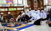 วิทยาลัยการสาธารณสุขสิรินธร ประกอบพิธีทางศาสนาอิสลาม ถวายเป็นพระราชกุศลแด่ ในหลวง ร.9