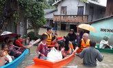 ต.ปะกาฮะรังจ.ปัตตานียังจมน้ำเข้าออกต้องเรือ