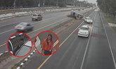 ตำรวจตั้ง 3 ข้อหาหนัก  คนขับปาเจโรชนดีแม็กคว่ำแล้วหลบหนี