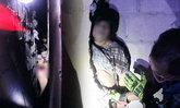 ระทึก! สาวใหญ่คลั่งอ้างถูกไล่ยิง ดิ่งชั้น 2 ติดซอกกำแพง กู้ภัยเร่งช่วยเหลือทัน