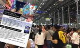 สุวรรณภูมิวุ่น..  นทท.นับพัน ถูกหลอกซื้อทัวร์ไปญี่ปุ่น  โดนลอยแพกลางสนามบิน