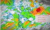 """อุตุฯ เตือนฉบับที่ 7 พายุโซนร้อน """"เซินกา"""" บริเวณทะเลจีนใต้"""