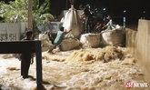 แม่น้ำยมผุดทะลักท่วมวัดไทยชุมพล สุโขทัยเตือนเที่ยงนี้มีมวลน้ำ