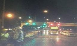 ผู้ว่าฯกทม.สำรวจไฟส่องสว่างป้ายรถเมล์