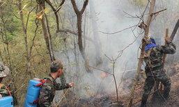 หลายหน่วยงานระดมดับไฟป่าในอ.สุไหงปาดี