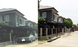 ยอมรื้อแล้ว! บ้านหรูต่อหลังคาโรงจอดรถล้ำถนน