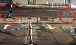 มอเตอร์ไซค์ชนจักรยานแล้วหนีทิ้งเจ็บกลางถนน สุดท้ายเสียชีวิต