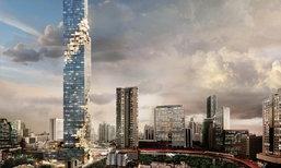 """จุดพลุรัวๆ ฉลอง """"มหานคร"""" แลนด์มาร์คแห่งใหม่ ขึ้นแท่นตึกสูงที่สุด"""