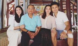 """ภาพครอบครัวสิริสุขะ """"เชอร์รี่"""" """"ปูเป้"""" หน้าตาดีทั้งบ้าน"""