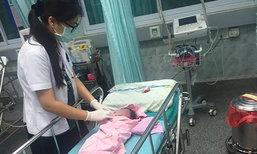 สาวประเภทสองลำปางใจบุญช่วยชีวิตทารกถูกทิ้ง