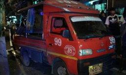 รถบรรทุกเบรคแตกชน11คันรวดฝั่งธนฯ-เจ็บ6