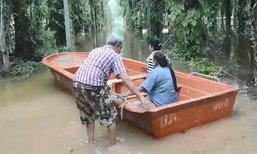อ.อ่าวลึกยังอ่วม! น้ำท่วมขังนานนับเดือน ชาวบ้านเริ่มเป็นโรคเท้าเปื่อย