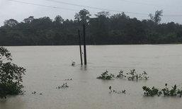 ฝนถล่มพังงาป่าหลากท่วม5ตำบลกระทบกว่าพันหลัง