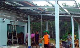 ชุมพร-น้ำป่าหลากพายุถล่มหมู่บ้าน-ตลาดพังราบ