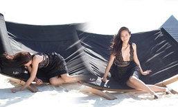 อั้ม พัชราภา เจอแฉเบื้องหลังแอคท่าสวย หวิดหน้าทิ่มทราย