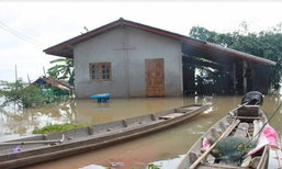 พัทลุงริมทะเลสาบ5อำเภอ18หมู่บ้านยังท่วมขัง