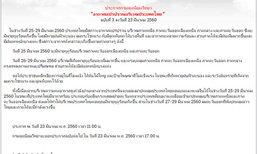 อุตุฯเตือนฉ.3 ประเทศไทยอากาศแปรปรวน