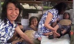 ลูกชายยอดกตัญญู แต่งหญิง 20 ปีปลอบใจแม่ เสียใจน้องสาวเสียชีวิต