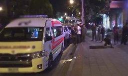 มือมืดสาดกระสุนใส่รถพยาบาล ตำรวจเปิดวงจรปิดล่าตัว
