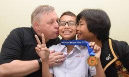 เด็กเก่งหัวใจแกร่ง! ป่วยมะเร็งระยะ 3 ยังคว้าเหรียญทองคณิตศาสตร์โอลิมปิก