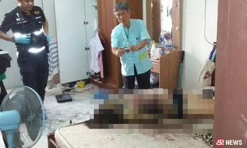กลิ่นเน่าโชย เปิดห้องพบศพนักศึกษาสาวถูกฆ่าโหดคาเตียง