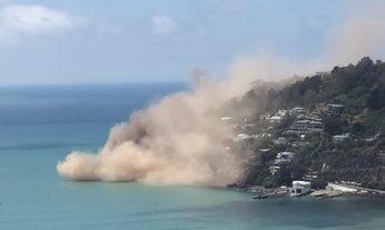 ภาพความเสียหาย แผ่นดินไหว 5.8 ที่นิวซีแลนด์ เมื่อเช้านี้