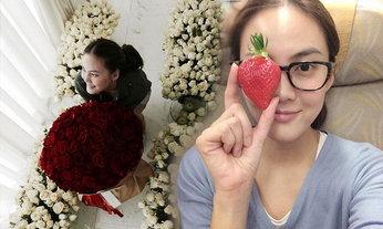เจนี่ ชีวิตดี๊ดีวาเลนไทน์ ดอกกุหลาบบานฉ่ำเต็มห้อง