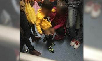 เรื่องนี้..ยกให้พี่จีน มนุษย์ป้าปลดกางเกงเด็ก ให้ฉี่กลางรถไฟฟ้า
