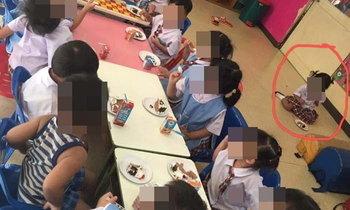 แม่ไม่ปลื้ม! ลูก 2 ขวบ ถูกจับนั่งแยก ครูอ้างเด็กขอเอง